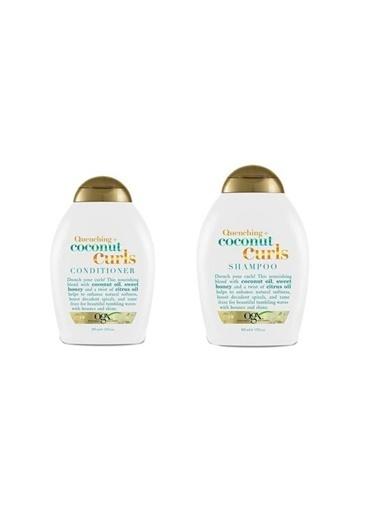 Organix Organix Coconut Bukle Şampuan Ve Saç Kremi 385 Ml Renksiz